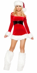 Santa's Saint Mini Dress