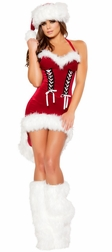 Santa's Snowflake Mini Dress