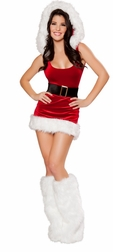 North Pole Babe Mini Dress
