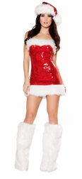 Miss Candy Cane Mini Dress