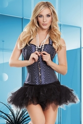 Sinfully Sweet Polka Dot Corset & Pettiskirt