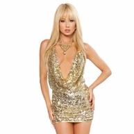 Spotlight of the Night Mini Dress