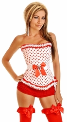 Pretty in Polka Dots Corset