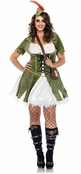 Plus Size 3 PC. Thief of Hearts Costume