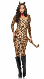 3 PC Cougar Costume