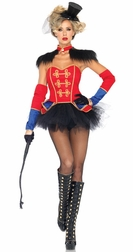 4 PC. Ring Mistress Costume