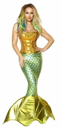 2PC Siren of the Sea Costume