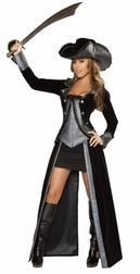 2PC Pirate Princess Costume