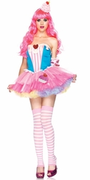 4 PC Sugar & Spice Cupcake Costume
