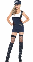 2 PC. Arresting Officer Costume