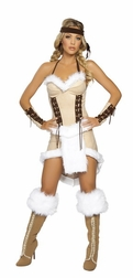 3 PC Indian Maiden Costume