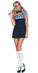 4 PC. Naughty Nerd Costume