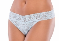 Plus Size I Do! Bridal Lace Thong