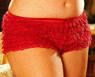 Rows and Rows of Lace Ruffle Boy Short