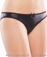 Plus Size One Tough Babe Crotchless Panty