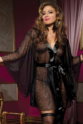 Plus Size Secret Affair Tonight Kimono