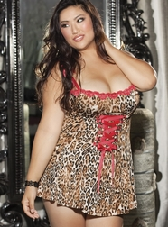 Extra Plus Size Wild About Color Chemise