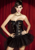 Plus Size Dance With Me Tonight Sexy Corset Set