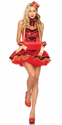 5 PC. Vintage Cigarette Girl Costume
