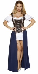 4PC Seductive Serving Wench Costume
