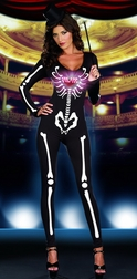 Dancing Skeleton Diva Costume