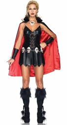 3 PC Warrior Woman Costume