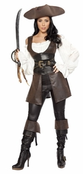 Deluxe 6pc Swashbuckler Costume