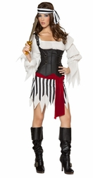 5PC Pirate Mistress Costume