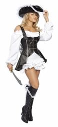 4 PC Pirate Maiden Costume