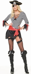4 Pc. Swashbuckler Pirate Women's Costume