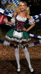 Deluxe German Beer Girl Costume