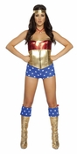 3 PC Comic Book Heroine Costume