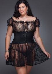 Plus Size Vacation's Affair Babydoll