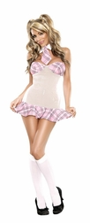Plus Size Coed Cutie Costumes Set
