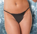 Leather & Lace G-String