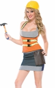 Cutie Construction Worker Costume