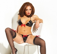Patent 3 PC Set With Red Bows
