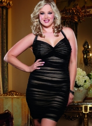 Plus Size After Dark Sexy Dress