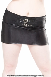 Plus Size Touch Me Skirt
