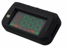 OBD-II HUD Head Up Display Speedometer with Speed (Miles/KM), RPM, Voltage, Water Temp