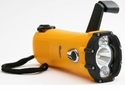 Self Powered Hand Wind Ultra Bright 1-Watt Led Waterproof Flashlight