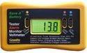 12-Volt Battery Alarm Monitor with Load Tester and Voltmeter
