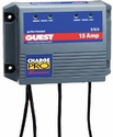 Charge Pro Series Marine Battery Charger (12/24-Volt, 15-Amps 5/5/5, Triple Output)