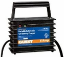 Portable Marine Battery Charger (12-Volt, 6-Amps, Single Output)