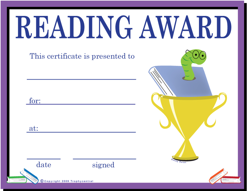 Free Printable Award Certificates For Elementary Students  The Best