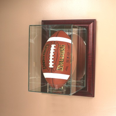 Football Display Cases And Holders Upright