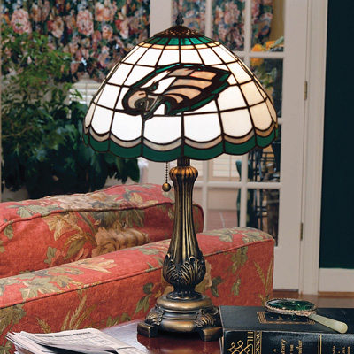 Philadelphia Eagles Tiffany Lamp Stained Glass