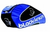 Black Knight Double Gear Racquet Bag, Black / Blue / White