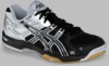 Asics Gel Rocket 6 Squash / Volleyball Women's Shoes, Black / Silver