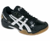 Asics Gel Domain 2 Squash / Volleyball Lady's Shoes, Black / White
